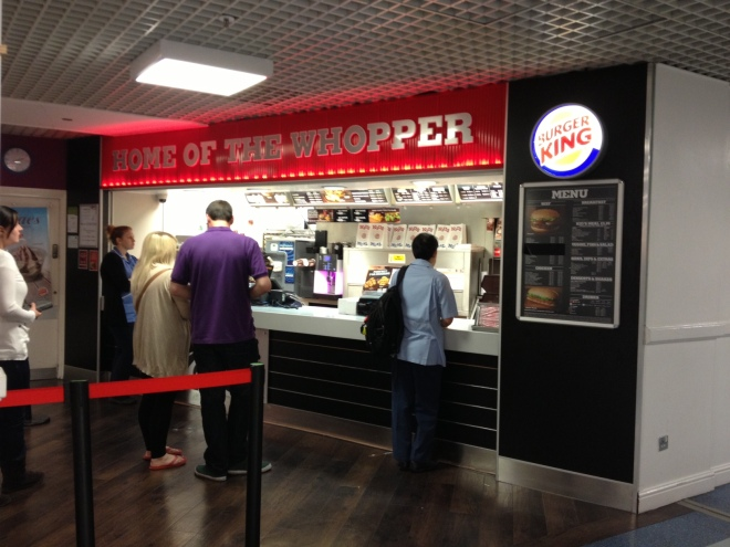 Burger King Southampton General Hospital